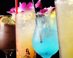 【多彩なノンアルコール】 ノンアルコールカクテルも種類豊富!
