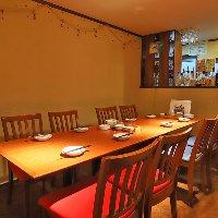 お座敷席から半個室テーブル席まで、色々あります!