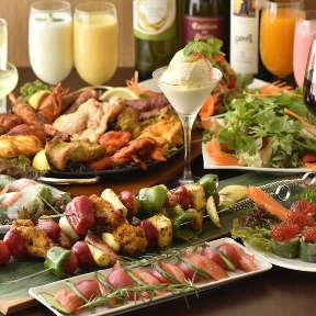 炭焼きタンドールと55種食べ放題 シルザナ 市ヶ谷店の画像