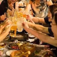 【爽快!屋上ビアガーデン】 暑さを吹き飛ばす乾杯ビール!