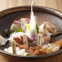 話題の熟成魚が付いた飲み放題付コースは5,000円~ご用意♪