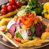 産地直送オーガニック野菜&減農薬野菜を贅沢に使用