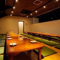 2階にはご宴会に最適なゆったりお座敷席をご用意!
