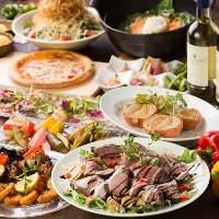 ご宴会に人気の宴会コースはお得な2時間飲み放題付