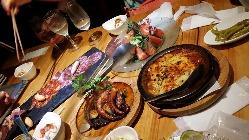 種類豊富な多国籍Dining♪ PARTYメニューも有り◎