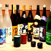 芋、麦、米、紫蘇、日本酒もございます☆