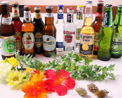 各国のクラフトビールで乾杯♪