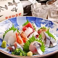 【驚きのコスパ!】 朝採れ新鮮旬の刺身四種盛りはナント598円
