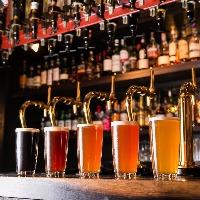 常時4種~5種のクラフトビールをご用意