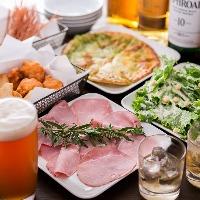 ご宴会コースは2時間3,000円~ご用意いたします。