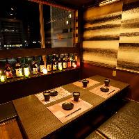 上質な個室空間は飲み会や女子会、接待にもおすすめ!