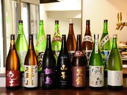 日本酒をふんだんに利用できます!!宴会や接待に最適♪