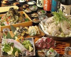 【宴会】 佐賀を味わうことのできる宴会コース。