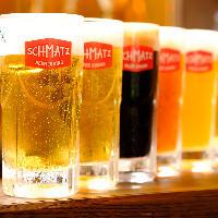 ドイツ人オーナーこだわりのオリジナルクラフトビール♪