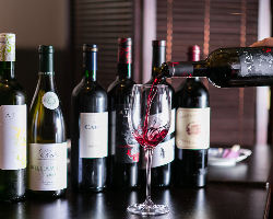 厳選ワインから珈琲まで。こだわりのドリンクをご用意。