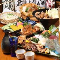 うまい料理で宴会だぁ!!!