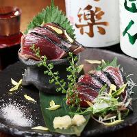 旬の鮮魚はその日のおすすめでご用意しております