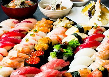 江戸前寿し食べ放題 漁師料理の店 うみめし アトレヴィ大塚店の画像