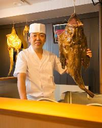 【平潟漁港直送鮮魚】 鮮魚もオーナー自ら買い付け運びます
