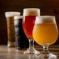 日替わりで生のクラフトビールを4種類ご用意しております!