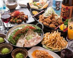 【宴会コース】 飲み放題付きコース2500円からご用意!