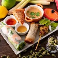 人気のアジアン料理をお腹いっぱい堪能!