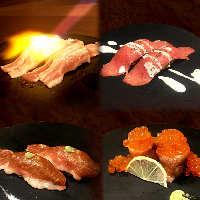 ゆっくりとお食事。 食欲を満たすお肉とお鍋、そして地酒。