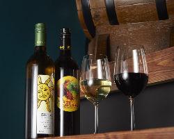 インドワインなど、厳選銘柄は18種以上のラインナップ