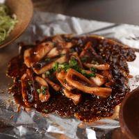 濃厚な味わいにきっとヤミツキ☆「イカのわた味噌焼き」