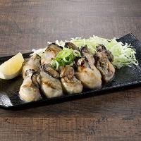 広島といえば…外せない!「広島産牡蠣焼き」のブチ盛り!