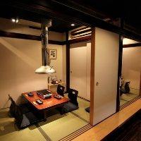 完全個室完備。接待でのご利用ややご家族連れのお客様も安心。