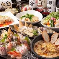 直送鮮魚や旬野菜を使用し お酒も進む創作料理をご提供!