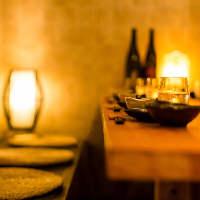 逸品料理はこだわりの個室で。 楽しい時間をお過ごし下さい◎