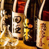 希少種の日本酒も多数取り扱いあり♪お好みの銘酒に出会えるかも