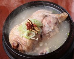 アツアツホクホク!韓国料理サムギョプサル 980円(税抜)