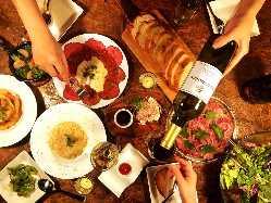 旨い料理と美味いお酒で幸せなテーブルを♪