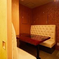 完全個室のお部屋、周りを気にせず寛ぎ下さい。
