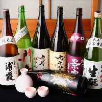 栃木の地酒、鳳凰美田も各種揃えています。