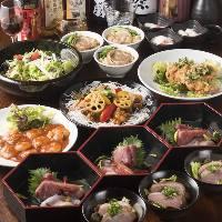 和食・中華の本格料理を味わえる。