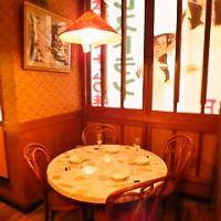 異国情緒漂う店内で、ゆっくりお食事をお楽しみください。