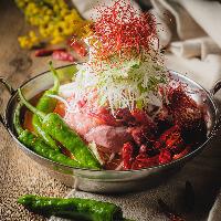 漢方和牛を使った創作肉料理と牡蠣小屋のお店です!