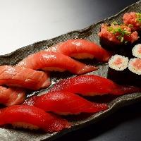 新鮮マグロのにぎり寿司