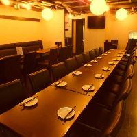 【貸切×宴会】 最大80名様の一体感ある貸切宴会が可能