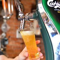 生ビールはもちろん、厳選国産クラフトビールもございます!