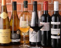 【極上ワイン】 ソムリエ資格を持つ店主が各国より取り揃えたワイン