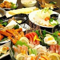 ランチは御膳・弁当・どんぶりとバリエーション豊富。