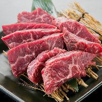 【自慢の肉料理】 タン・カルビ・ハラミなどを様々な調理法で