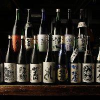 プレミアムも含め焼酎や日本酒も揃ってます♪