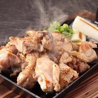 地鶏料理3種すべて食べ放題コースをご用意しております!