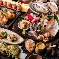 旬の鮮魚と繊細な手仕事が織りなす季節の美味をお楽しみください